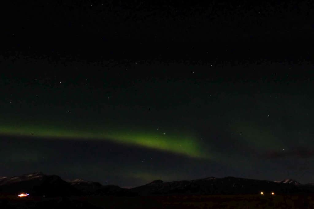 Chances Seeing Northern Lights Iceland