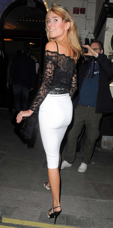 Julianne Hough Mini Skirt