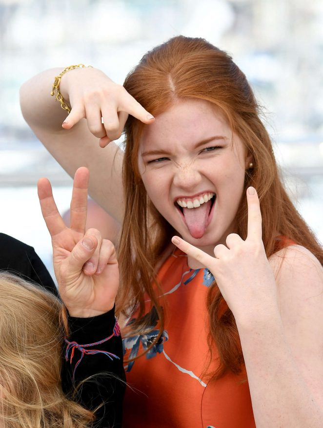 Annalise Basso: Captain Fantastic Photocall at 2016 Cannes ...