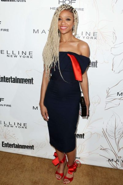 Tiffany Boone: 2018 Entertainment Weekly Pre-SAG Party -01 ...