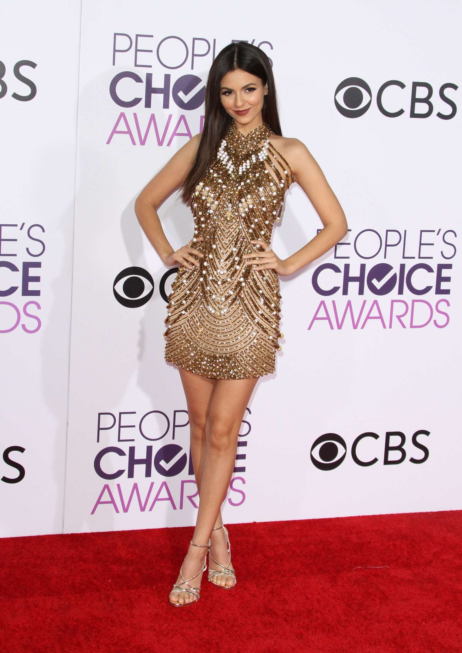 Victoria Justice: 2017 Peoples Choice Awards -01 – GotCeleb