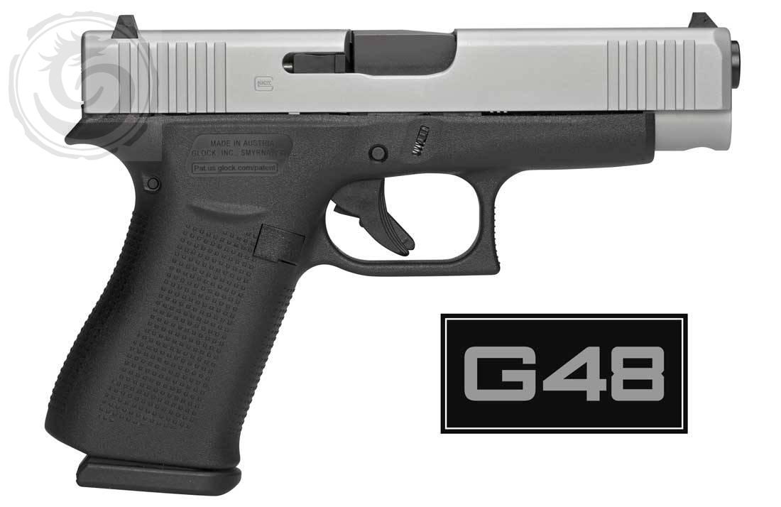 Glock 48 Single Stack 9mm Pistol Fixed Sights - Tenda Canada
