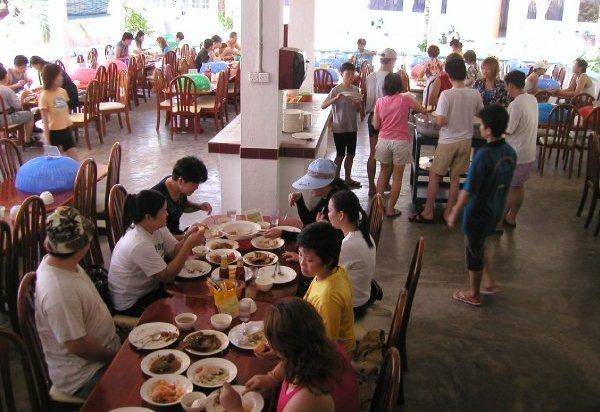 Redang Bay Resort Cafeteria