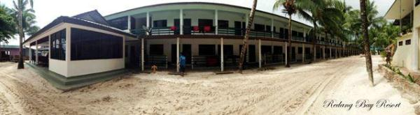 Redang Bay Resort Rooms building