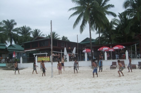 Redang Kalong Resort Beach Volleyball