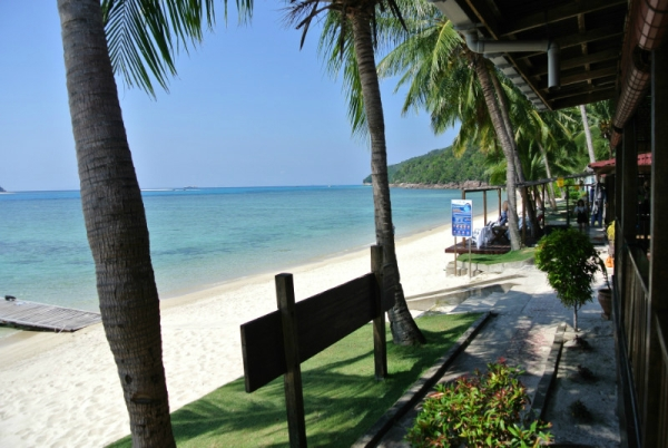 Redang Kalong Resort beach front