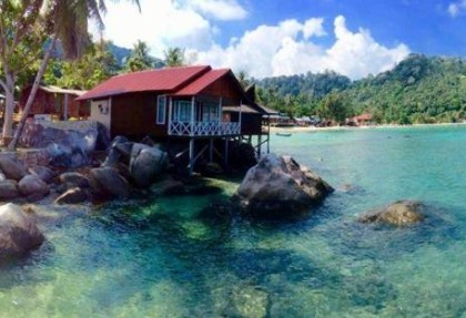 Salang Indah Resort Deluxe Sea View Chalet