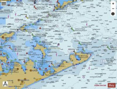 BLOCK ISLAND SOUND AND GARDINERS BAY (Marine Chart ...