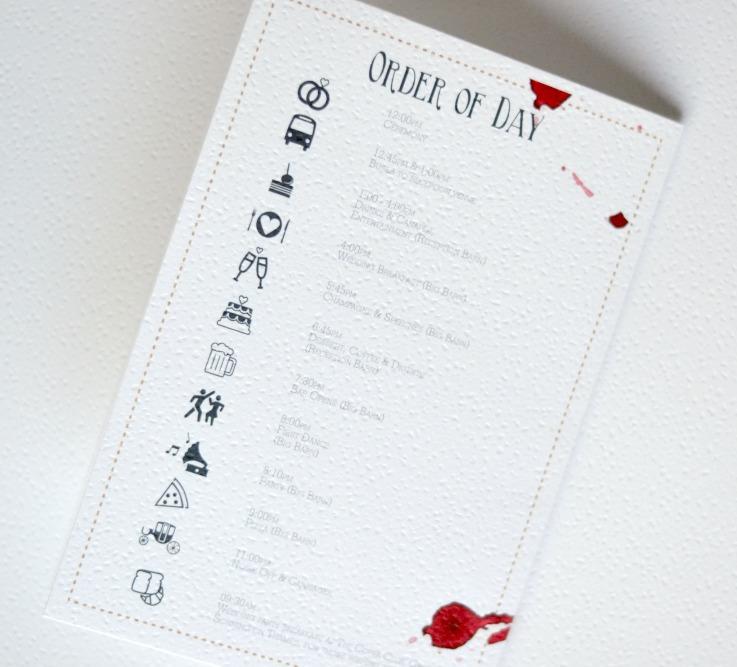 Modern Rustic Wedding Invitations