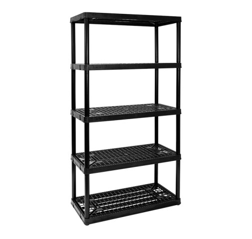 Heavy Duty 5 Ventilated Shelves   Gracious Living Corporation Heavy Duty 5 Ventilated Shelves