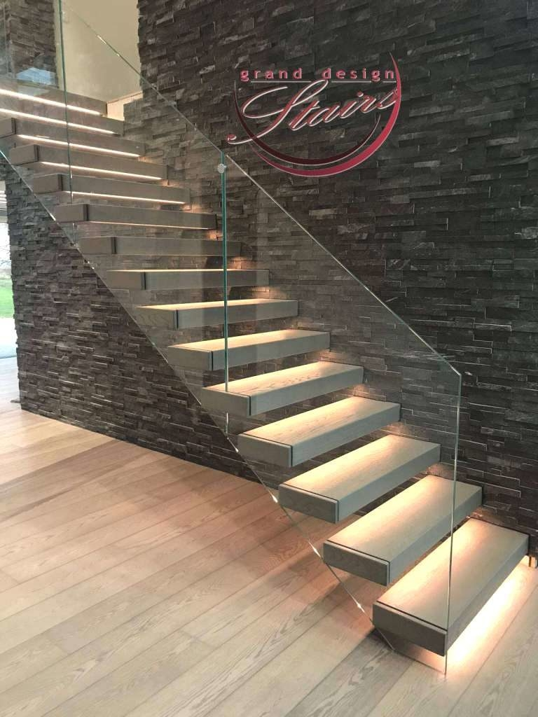 Staircases Lighting With Led Strips How To Illuminate A Staircase   Lighted Handrails For Stairs   Wrought Iron Railing   Minimal   Antique   Basement   Stair Banister