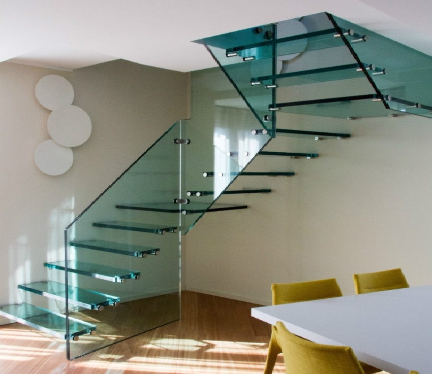 What Is The Price Of A Floating Staircase The Right Price Of | Glass For Stairs Price | Laminated Glass | Stairwell | Glazed | Outdoor | Toughened