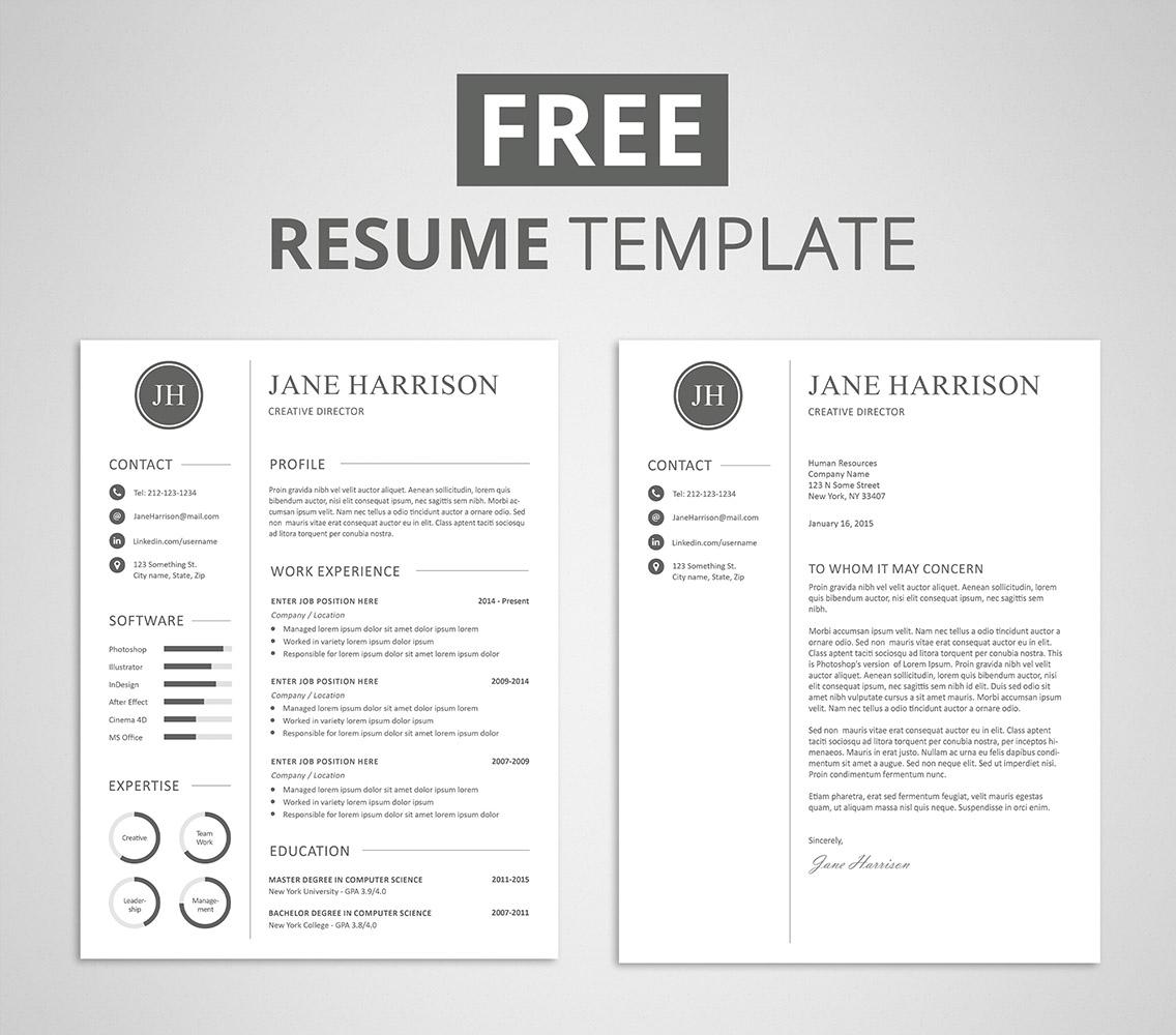 Front Page Letter Resume | lv.crelegant.com