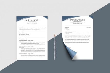 Free Resume Template for Word   Photoshop   Graphicadi free resume template for Word