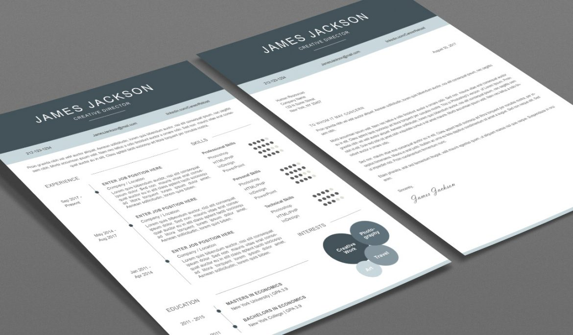 7 Best Free Resume Templates   Graphicadi Free resume templates