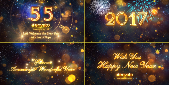 Awesome New Years Graphics  Videos  and Music   GraphicMule New Year Countdown