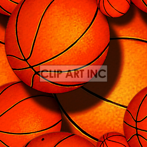 Royalty Free Basketball Tiled Background 128156 Background