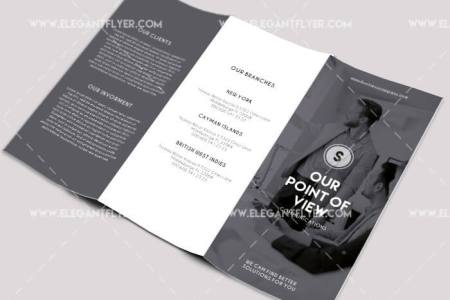 40 Free Professional Tri fold Brochures for Business   GraphicsFuel 1  Business     Free PSD Tri fold Brochure Template