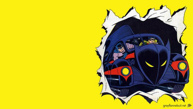 1960s Batman And Robin Wallpaper
