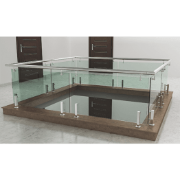 Stainless Steel Railing Set