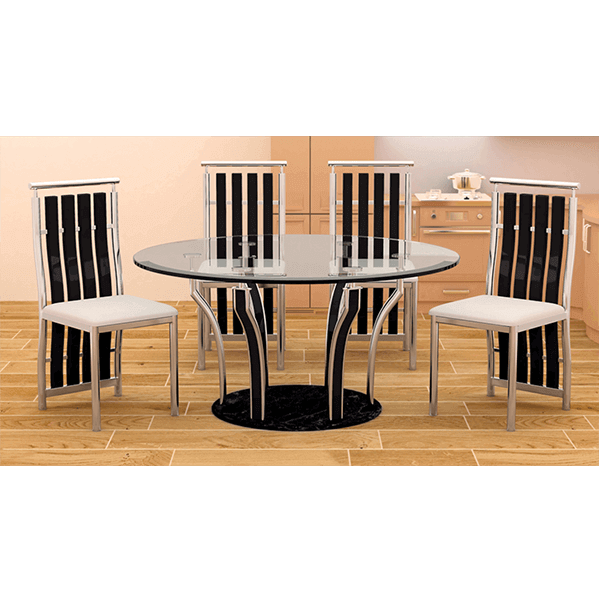 6 Seater Dining Tables Stainless Steel