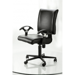 Office Chair Black Box Type New