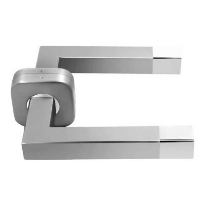 Steel Square Mortise Handle - Zinc Mortise Handle