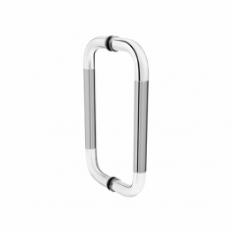 Stainless Steel Glass Door Pull Handles - Round Door Pulls