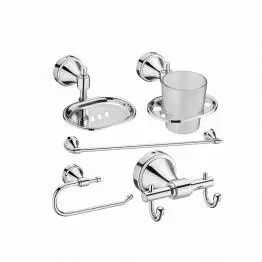 Panther Bathroom Accessories Set - The Green Interio