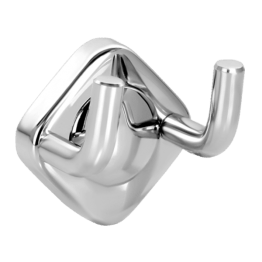 Stainless Steel Double Robe Hook