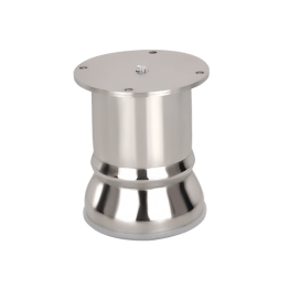 stainless steel furniture foot Round 50MM online in india