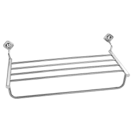 Wall Towel Holder Rack, Stainless Steel Towel Holder Rack - The Green Interio