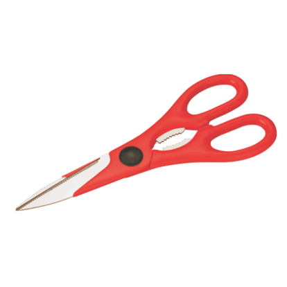 Multi Purpose Scissor Plastic Handle