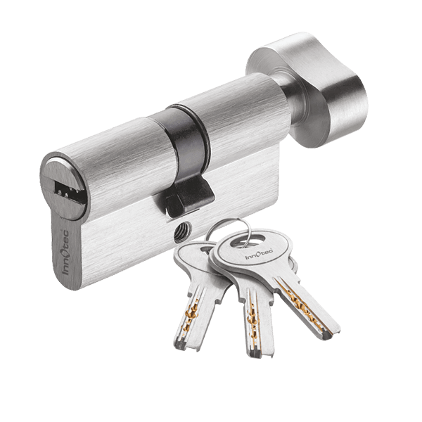 Mortice Lock Cylinder One Side Key One Side Knob