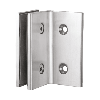 Wall to Glass 90 Degree Fix Bracket Glass Connector for shower fittings