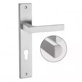 Stainless Steel Mortise Handles - The Green Interio