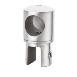 Shower Fittings Rod to Glass Shower Bracket End Clamp