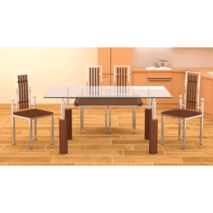 Six Seater Dinner Table Set