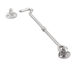 Gate Hook 2 Inch Round, Round Gate Hook SS202, Gate Hook Round 4 Inch, Stainless Steel 202 Gate Hook Round 3 Inch, Round Gate Hook 2.5 Inch, Stainless Steel 202 Gate Hooks Round 3 Inch, Stainless Steel Gate Hook Round -Stainless Steel Window Gate Hook - The Green Interio
