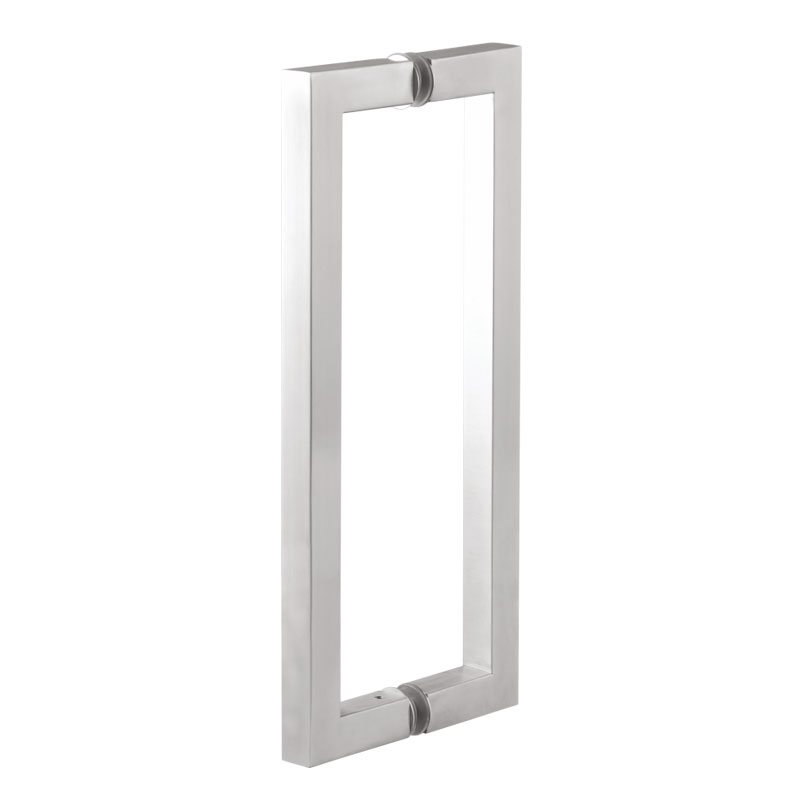 glass door pull handle. Architectural Glass Door Handles Hardware, SS 304 Pull Handle Square - SS304 S