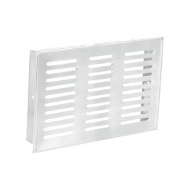 Cabinet Ventilation Grills, Stainless Steel Air Vent Grill Kitchen Jali 8 inch x 12 inch SS Kitchen Jhali - Kitchen Drawer Ventilation grilles 4 inch X 10 inch Stainless Steel 202 |Kitchen Jali Stainless Steel, SS Drawer Ventilation Grill