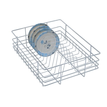 Plate Baskets, Plate Basket Stainless Steel SS 202 plate basket - Stainless Steel Plate Racks - Green Interio