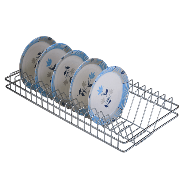 SS Plate Rack Stainless Steel Plate Basket Stainless Steel Plate Baskets - Plate Rack  sc 1 st  Green Interio & Buy online Plate Rack Stainless Steel in India | The Greeninterio