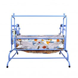 Butterfly Automatic Baby Cradle Super - Born Baby Swing Ghodiya Cradle