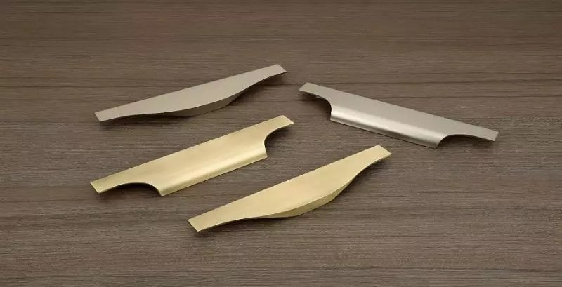 Aluminium Concealed Profile Handles 900X460 - The Green Interio