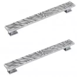 Silver Aluminium Door Handle