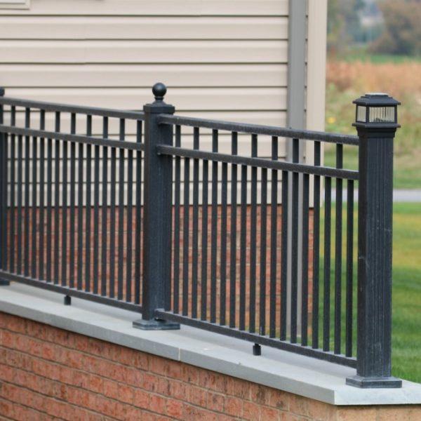 4 4 1 1 Rail 5 X 3 End Vinyl Fence Caps