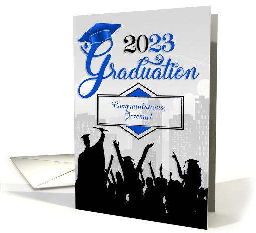 Blank Graduation Announcements