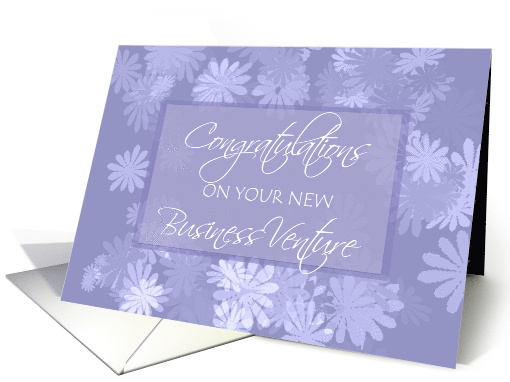 Cards Business Blank Note
