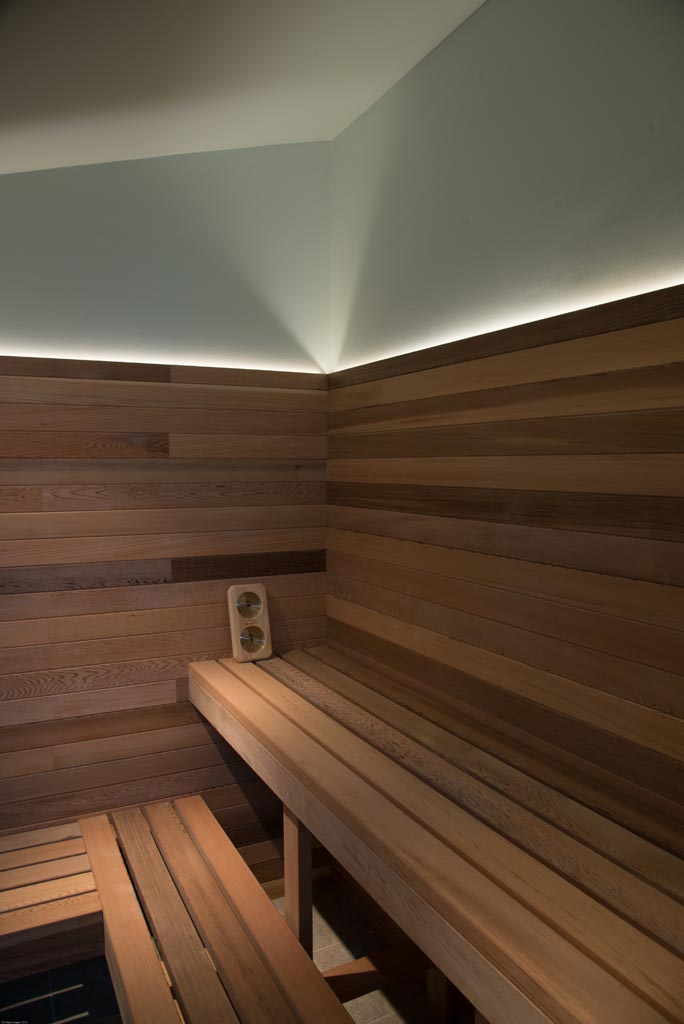 Led Lighting In Sauna Gross Electric